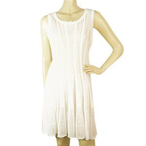 Missoni Off White knitted Sleeveless mini above kn